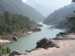 Ganga on the Left