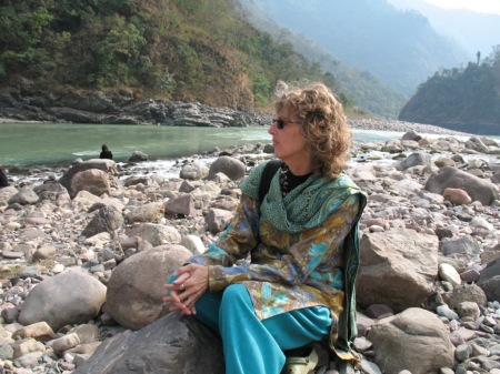 Me on the Ganga