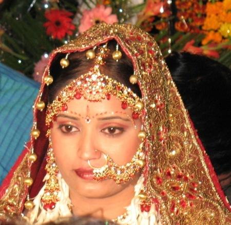 bejewelled bride