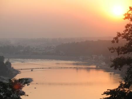 ram  jhula sunset3 good