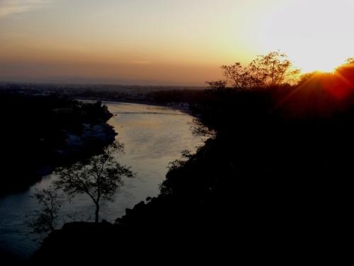 sun setting2