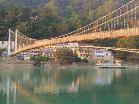 Ram Jhula at Sunset