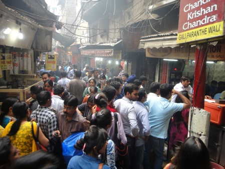 Lunchtime in Chandni Chowk