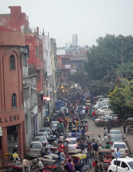 view from Jama Masjid