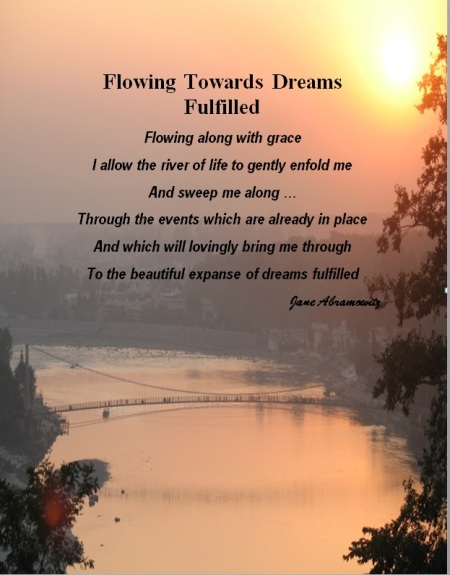 Flowing Towards Dreams Fulfilled