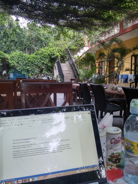 PERFECT PLACE FOR WRITING