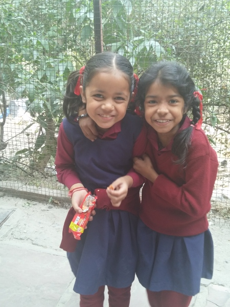 KIDS AT RAMANA'S ORPHANAGE WHERE YOU CAN GET SUPERB ORGANIC MEALS AT THEIR RESTAURANT AND ALL THE PROCEEDS GO TO THEKIDS