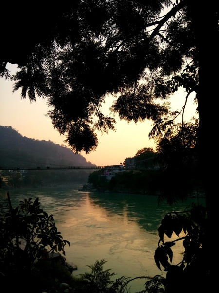 GANGA AT SUNSET