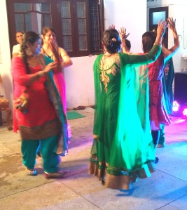TRADITIONAL PUNJABI DANCING