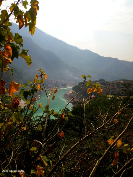 GANGA VIEW FROM UPSTREAM ON BADRINATH ROAD